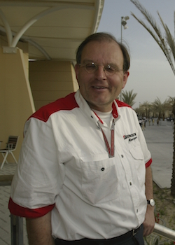 Photo: Kees van de Grint in the paddock at the Bahrain Grand Prix
