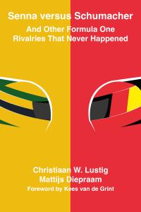 Image: book cover Senna versus Schumacher
